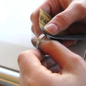 Name rings polishing