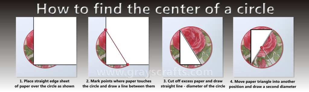 How to find center of a circle